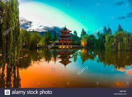 100 Banyantree Lijiang A Pagoda At The Banyan Tree Resort Hotel Shuhe Yunnan