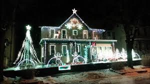 winter leechburg lights