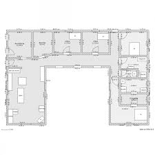 charmant plan de maison gratuit pdf 8 maison en u plan evtod