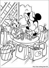 Minnie Mouse Coloring Pages On Book