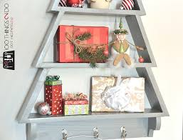 Jaimes Plans Are Free And Easy To Follow So Click On Over If You Want Make Your Own DIY Christmas Tree Shelf