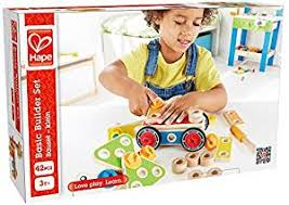 Hape Kitchen Set India by Buy Hape Wooden Basic Builder Set Online At Low Prices In India