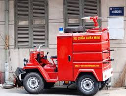 Mini Firetruck In Vietnam. Photo; Frenchgirlinhongkong Source ...