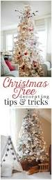 Flocked Artificial Christmas Trees At Walmart by How To Decorate A Christmas Tree Ella Claire