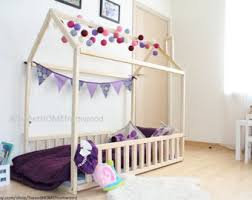 Wood bed 140x70 90cm child bed toddler bed от SweetHOMEfromwood