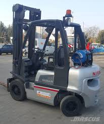 100 Nissan Trucks Used U1D2A25LQ LPG Forklifts Year 2010 Price 8996 For