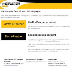 uwm d2l help desk cetl knowledgebase uwm epanther d2l login