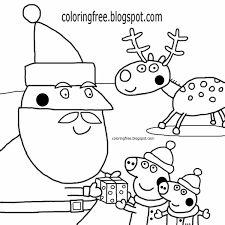 Peppa The Pig Coloring Page Tostudyinde