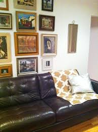 Dark Brown Sofa Living Room Ideas by Emejing Black Leather Couch With Pillows Gallery House Design