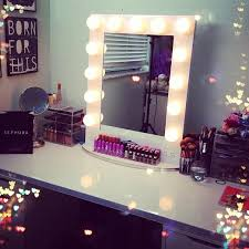 vanity makeup table with lights ideas spieelkas pinterest