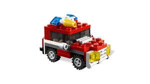 Mini Fire Truck (6911) | Creator, 2012 | BricksFirst: LEGO Themes ...