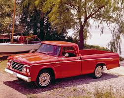 100 1964 Dodge Truck D100 Sweptline Custom Sport Special Pickup