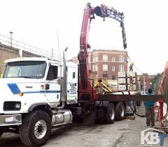 Fassi F600 AXP.26 W/ Jib On International Truck - Knuckleboom Trader