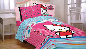 View In Gallery Colorful Hello Kitty Bedding Transforms The Ambiance Of Bedroom From OBedding