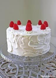 White Chocolate Raspberry Cake from Scratch