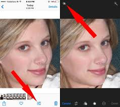 Remove red eye on Picture from s app on iPhone iPad iOS 10