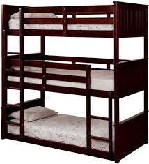 Triple Bunk Bed Plans Free by Bedroom Triple Bunk Bed With Trundle Quad Bunk Bed Plans Free
