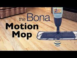 Bona Pro Series Hardwood Floor Refresher by Bona Hardwood Floor Mop Motion Youtube