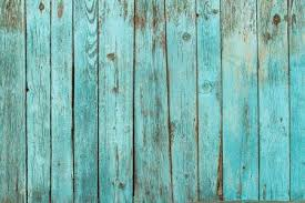 Old Wooden Background With Blue Paint Vintage Wood Texture From