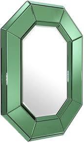 casa padrino wohnzimmer wandspiegel grün 80 x h 106 cm