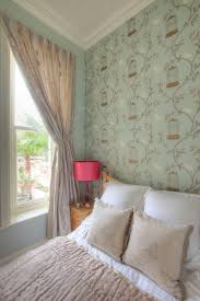 Bedroom Wallpaper Duck Egg Blue