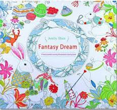 Fantasy Dream Adult Coloring Book