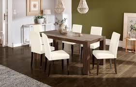 home affaire essgruppe livara set 7 tlg bestehend aus 6 lucca stühlen und dem esstisch