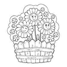 10 Pretty Daisy Coloring Pages For Toddlers