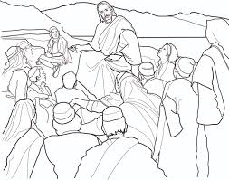 Teaching In The Temple Coloring Page Jesus For
