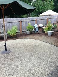 Pea Gravel Patio Images by Pea Gravel Patio Landscape Contemporary With Roses Transitional