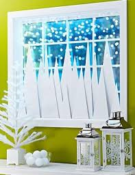 Decorating Ideas 4 For Winter Window Front Windows Pine 193448 Christmas Decorations Classroom