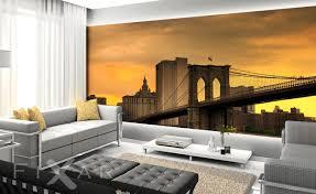 die wohnzimmer new york fototapete fürs wohnzimmer