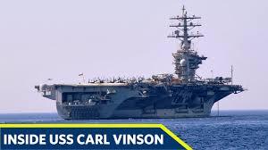 100 Aircraft Carrier Interior Inside The Mighty Nimitz Class Supercarrier USS Carl Vinson CVN 70