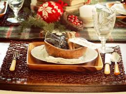 Rustic Christmas Table Decorations Ideas