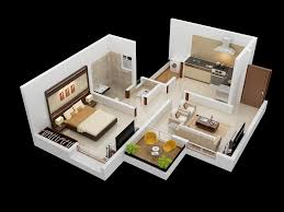 e Bedroom House Apartment Plans Simple Living Room Trends 2018
