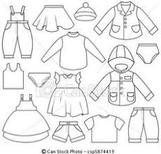 Childrens Clothing Clipart