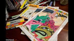 Présentation Du Livre De Coloriage Naruto De Masahi Kishimoto