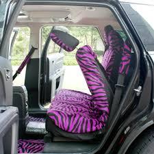 Oxgord Trim 4 Fit Floor Mats by 21pc Purple Zebra Print Suv Seat Covers Full Set Floor Mats Wheel