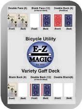 Bicycle Gaff Deck Uspcc by Bicycle Cards Ebay