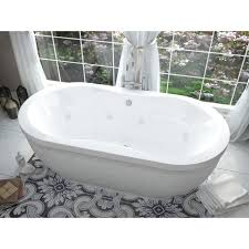freestanding air jet tub 18 sidewall air jetsbello freestanding