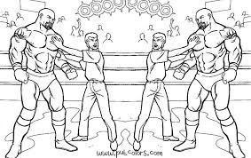 Coloring Pages Wwe 11 WWE