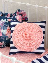 preppy coral and navy baby bedding tags navy and coral baby