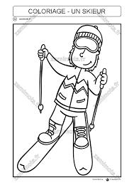 Coloriages Skieurs