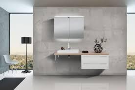 design badezimmerset mit waschbecken spiegelschrank