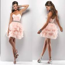 compare prices on light pink homecoming dresses online shopping