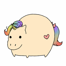 Cute Unicorns With Mustaches