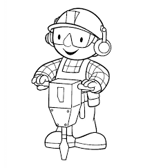 Free Printable Bob The Builder Coloring Pages