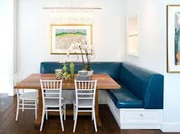 Corner Banquette Seating Dining Room Fresh Ideas White With Storage