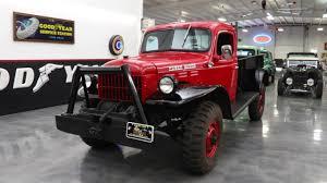 100 46 Dodge Truck 19 POWER WAGON Red 4306C Wwwstreetdreamstexascom YouTube