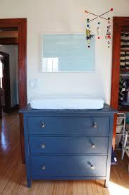 Hemnes 3 Drawer Dresser As Changing Table by Oakland Avenue Laura Wifler Eli U0027s Nursery Details U0026 Sources